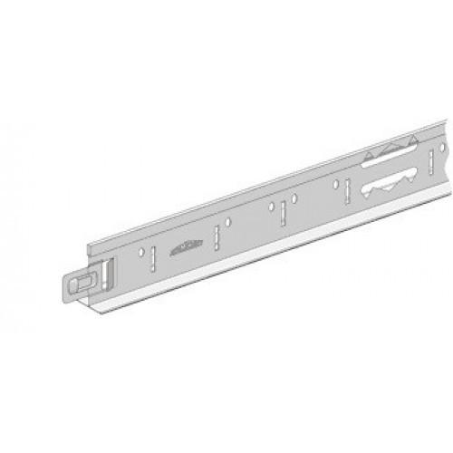 KRAFT Профиль Fortis T-15 600*25*15мм Ral 9003