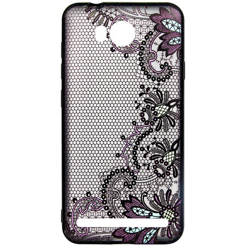 Чехол-накладка Rock Tatoo Art для Huawei Y3 II Color Flowers