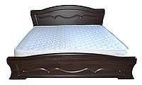 """Кровать """"Виолетта"""" Дуб Сонома, Орех темный, фото 1"""