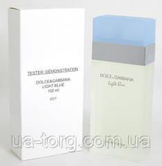 Тестер женский  Dolce & Gabbana Light Blue 100 мл.