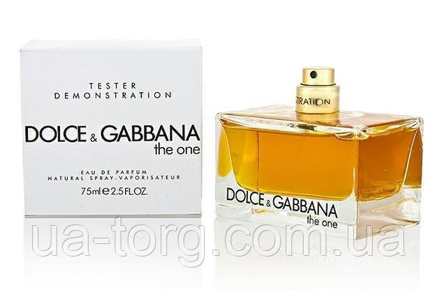 Dolce&Gabbana The One Woman (Дольче Габбана зе Ван вумен), тестер 75 мл.