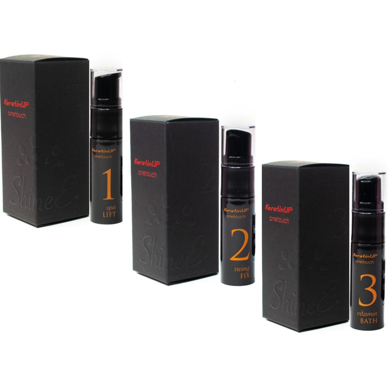 Набор состав №1 2 3  в баночках по 10 мл для ламинирования ресниц и бровей, ShineE