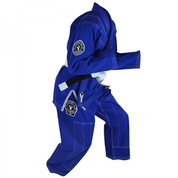Детское кимоно для бразильского Джиу-Джитсу COMBAT CORNER YoungStar Синее