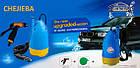 Портативная автомойка CHEJIEBA с погружным насосом и шлангом к прикуривателю для мойки машины, фото 2