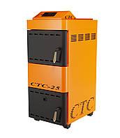 Котел пиролизный СТС - Длительного горения Стандарт 32 кВт (36) до 300м2