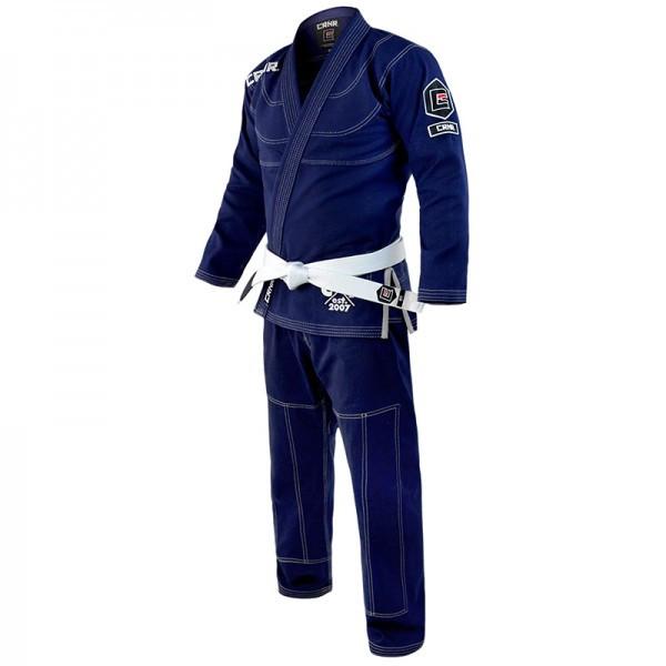 Детское кимоно для бразильского Джиу-Джитсу COMBAT CORNER V5 Темно-синее