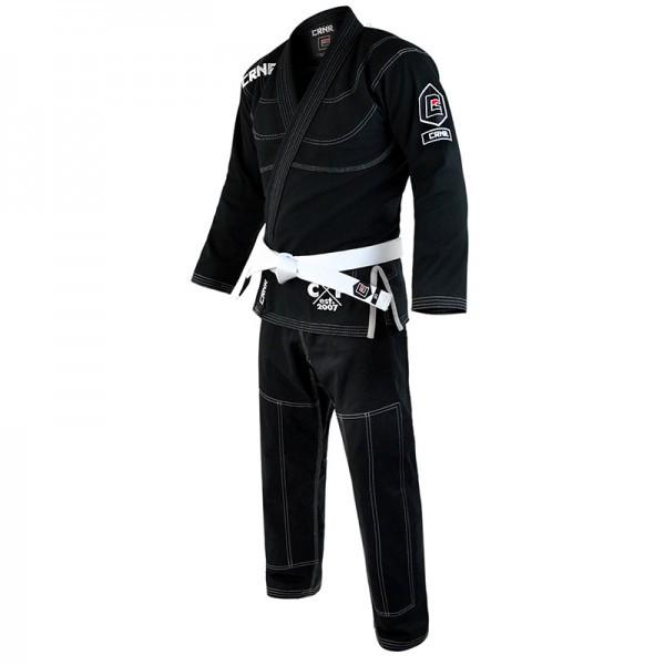 Детское кимоно для бразильского Джиу-Джитсу COMBAT CORNER V5 Черное