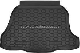 Резиновый коврик багажника Chery Tiggo 2 2017- Avto-Gumm
