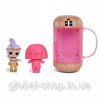 Кукла LOL в золотой капсуле декодер 15 серия (17х9см) в комплекте Шпионские очки, фото 2