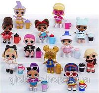 Кукла LOL в золотой капсуле декодер 15 серия (17х9см) в комплекте Шпионские очки, фото 3