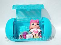 Кукла LOL в золотой капсуле декодер 15 серия (17х9см) в комплекте Шпионские очки, фото 4
