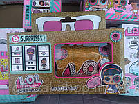 Кукла LOL в золотой капсуле декодер 15 серия (17х9см) в комплекте Шпионские очки, фото 9