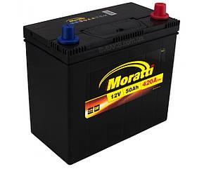 Аккумулятор Moratti 50Ah JL+ 420A