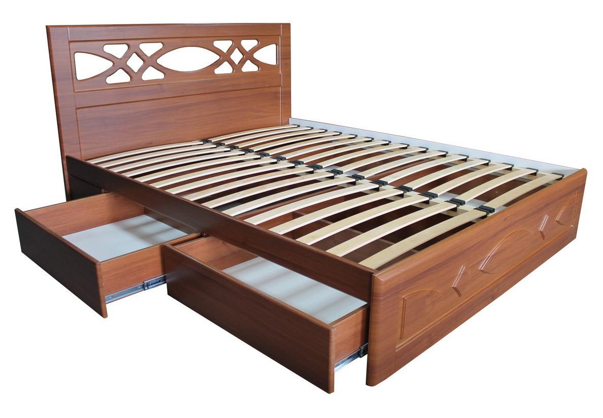 """Кровать """"Лиана"""" с подкроватными ящиками 4 шт."""