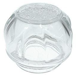 Крышка плафона лампы (стеклянная) для духового шкафа Electrolux 3879376907
