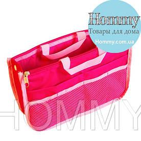 Органайзер для сумки украинский аналог Bag in Bag (розовый)
