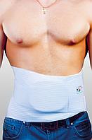 Корсет противогрыжевой с 2-мя пластиковыми ребрами жесткости и вставкой «пелотом» для грыж живота, UNI