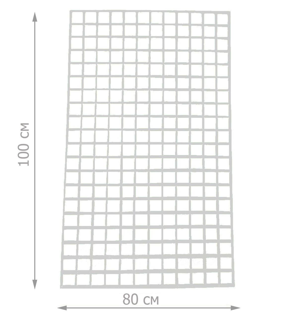 Торговая сетка решётка 100/80см ячейка 5/5см