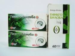 Гінкго-Білоба-Ф, капсули 0,4 г №60