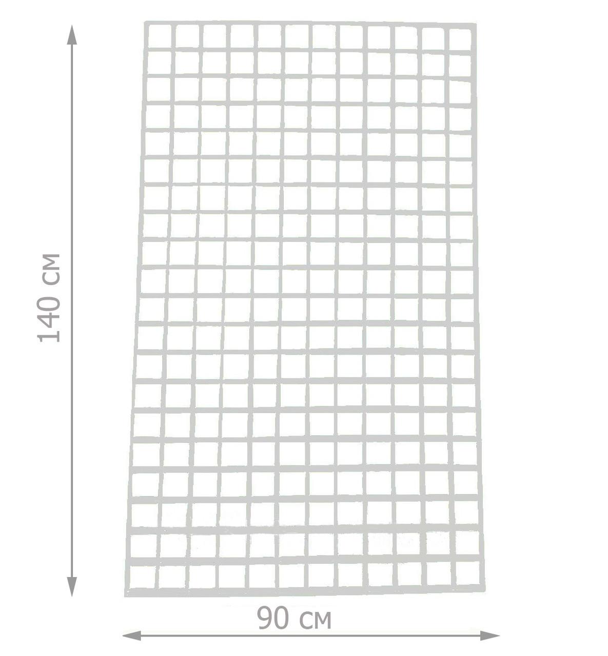Торговая сетка решётка 140/90см ячейка 5/5см