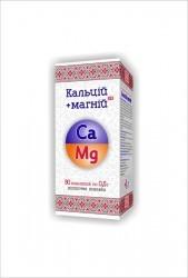 Кальций+Магний  таб. 0,5 г № 90