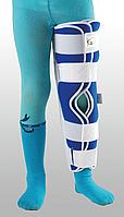 Детская жесткая шина для ноги с 5-тью металлическими ребрами жесткости, UNIp-1
