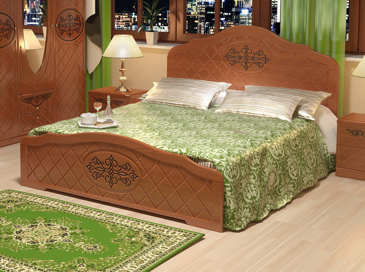 """Кровать """"Лючия"""" С подкроватными ящиками 4 шт."""