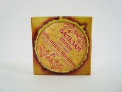 Бальзам Зірочка шолудивый (від лишаю, вугрів, вугрів), метал.банку 8 г
