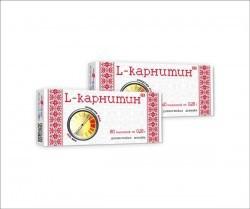 L-карнитин  № 40 табл 0,25 г