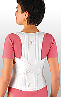 Корректор осанки ортопедический с 2-мя металлическими, моделируемыми ребрами жесткости, S, фото 1