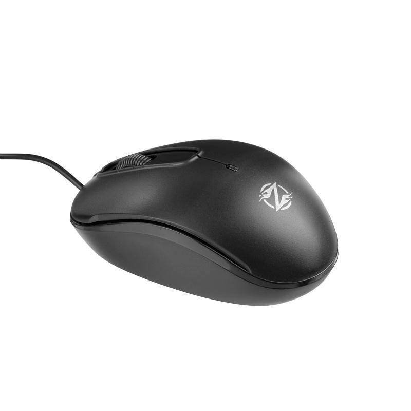 Мышь USB S122 Black