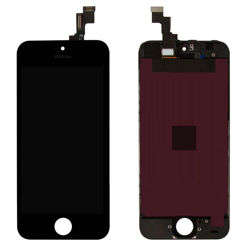 LCD iPhone 5S Black Compleate Copy