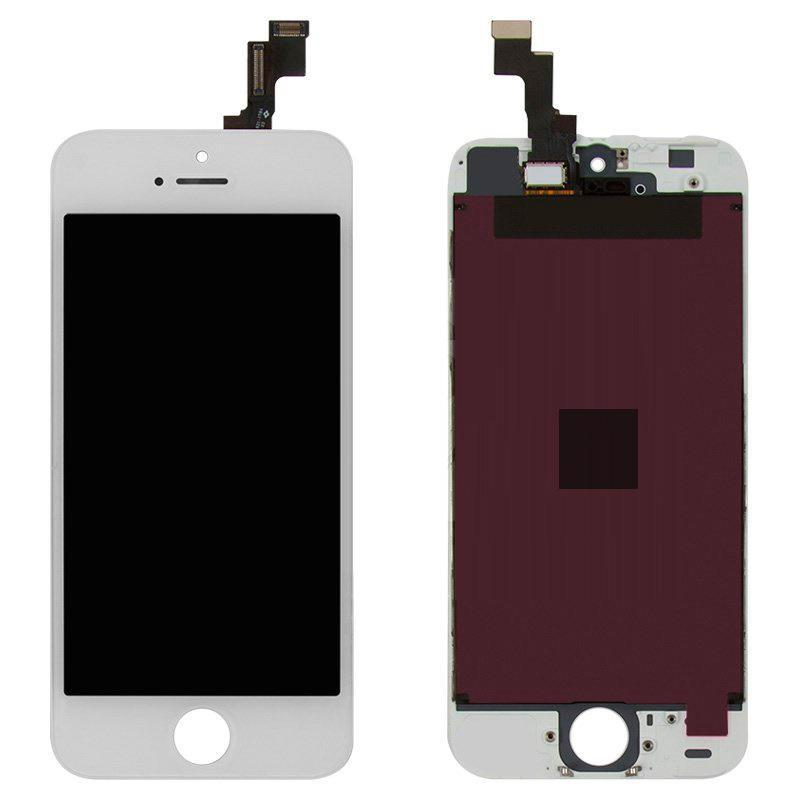 LCD iPhone 5S White Compleate Copy