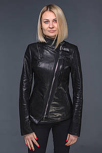 Женская кожаная куртка Вежеталь
