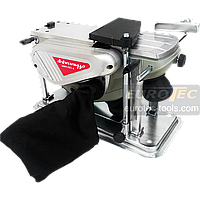 Электрорубанок на станине Авангард Р-110/1400С, электрический рубанок для выборки четверти