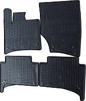 """Резиновые коврики """"Stingray Premium"""" на Audi Q7 05- (полный-4шт)"""