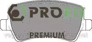 Гальмівні колодки Profit 50051918 на Ford S-MAX / Форд С-Макс