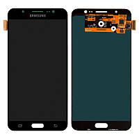 LCD Samsung J710H/J7-2016 + touch Black Copy