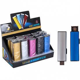 Электронная зажигалка USB 8×2,3×1,2 см