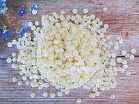 Полубусины перламутровые, 8 мм, цвет кремовый, 5 грамм (42-44 шт)