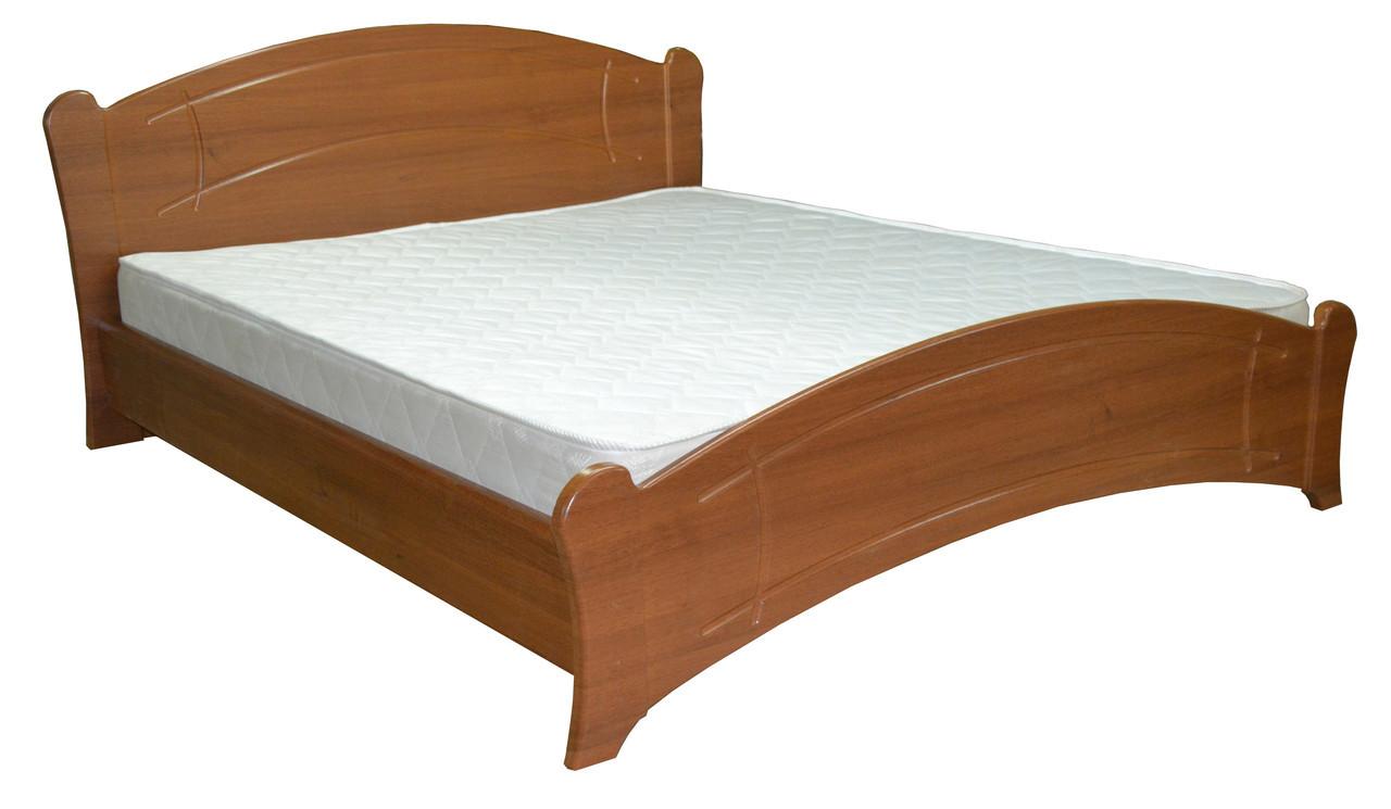 """Кровать """"Палания"""" 160х200 см. Орех светлый, Орех темный"""