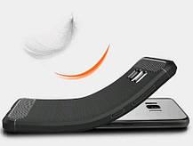 Силикон для Samsung J510 Black Carbon iPAKY, фото 2
