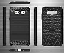 Силикон для Samsung J510 Black Carbon iPAKY, фото 3