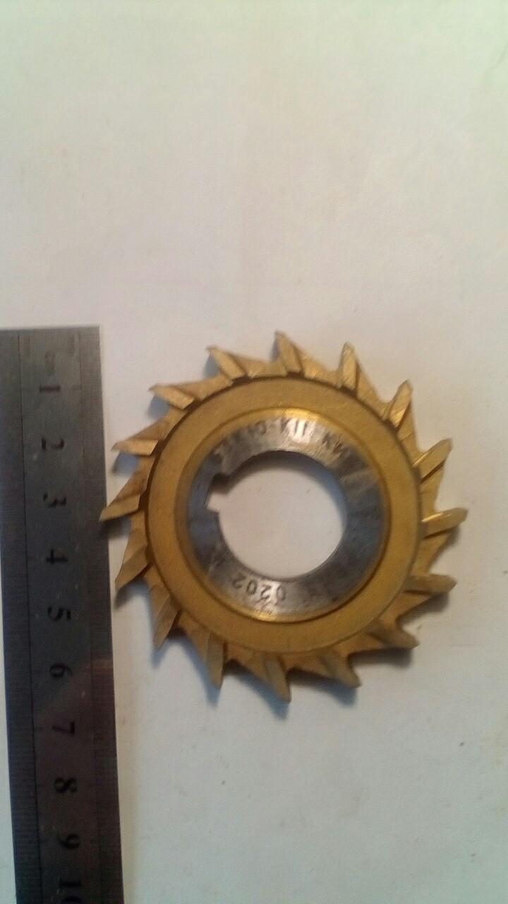 Фреза дисковая 3-сторонняя,63х10х22,Z16 ГОСТ28527
