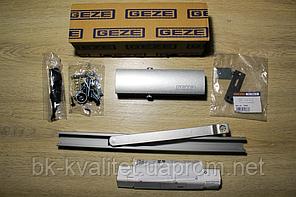 Доводчик GEZE TS 1500 G со скользящей шиной и  фиксацией