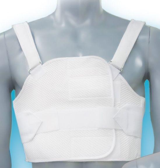 Бандаж реберный послеоперационный разъемный на грудную клетку БР - 3Т, S