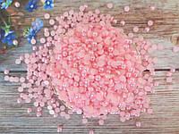 Полубусины перламутровые, 6 мм, цвет розовый, 10 грамм (160-180 шт)