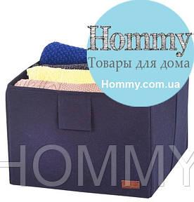 Ящик-органайзер для хранения вещей L (синий)
