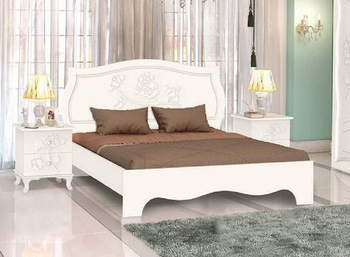 """Кровать """"Роза"""" С подкроватными ящиками 4 шт."""