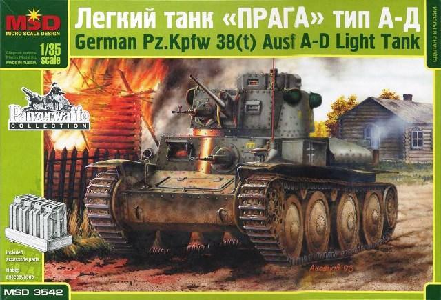 "Легкий танк ""Прага"" тип. А-Д. 1/35 MAQUETTE 3542 , фото 2"